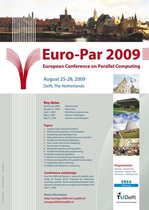 Euro-Par 2009 Conference poster