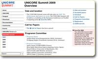 UNICORE summit'2009